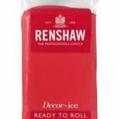 poppy red renshaw icing