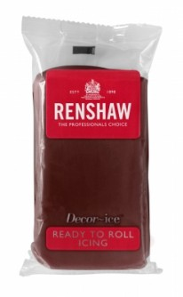renshaw chocolate flavour icing