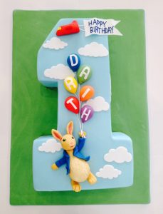 Number Childrens Cake