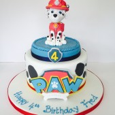 1 sugar model & sugar logo paw patrol