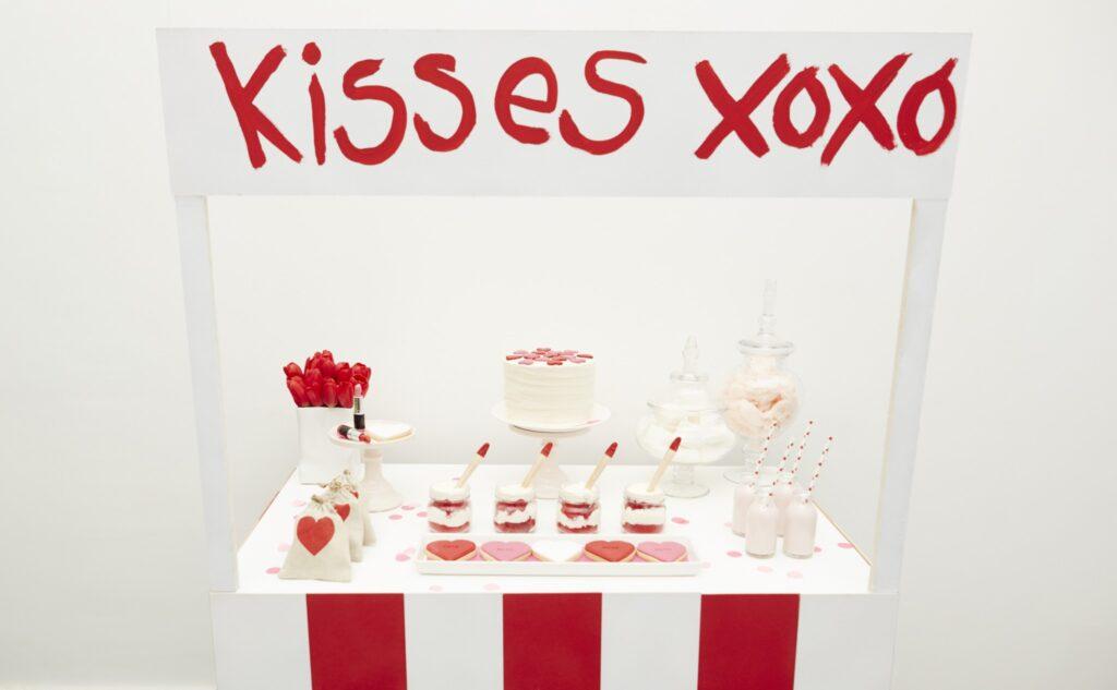 Valentines Dessert bar