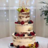 3 tier berry cake