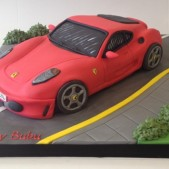 3D Ferrari closed roof