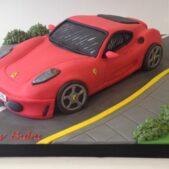 3D Ferrari birthday cake