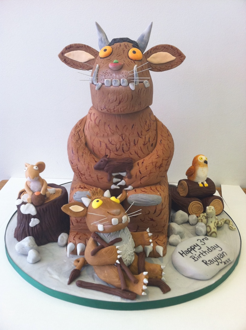 Gruffalo Birthday Cake Options Cakes By Robin
