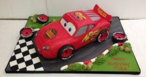 Lightening McQueen Cars 3D Birthday cake