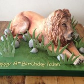 3D Lion cake