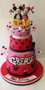 4 tiered mickey mouse cake