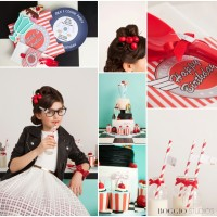 50s party detail ideas