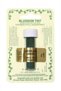 Woodland Green Sugarflair Blossom Tint Dust