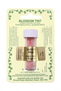 Dusky Pink Sugarflair Blossom Tint Dusting Colours