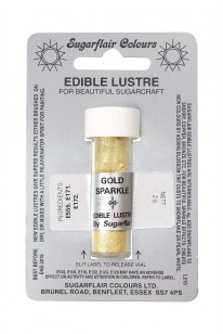 edible gold lustre dust