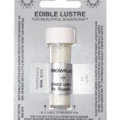 Snowflake Sugarflair Edible Lustre Colour