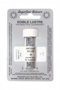 antique silver lustre dust