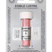 shimmer pink lustre dust