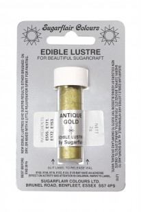 antique gold lustre dust