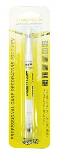yellow food pen