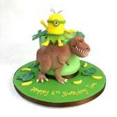 6th birthday minions cake