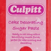 culpitt red sugarpaste