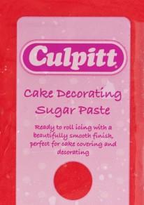 culpitt red sugarpaste