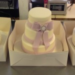 Almost ready for delivery - wedding cakes in boxes