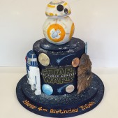 Starwars birthday cake