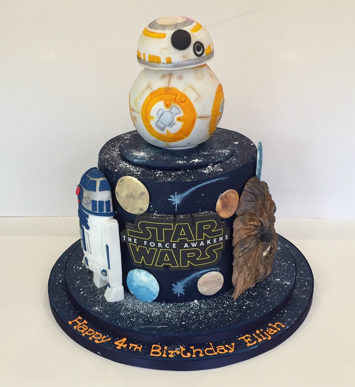 Pictures Star Wars Birthday Cakes