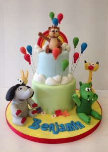Baby tv character birthday cake
