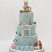 Baby cake – Peter Rabbit theme