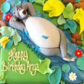 Baloo Bear cake