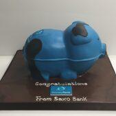 Bank cake