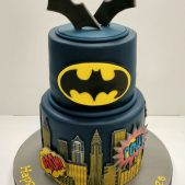 Batman- Birthday cake