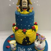 Beauty and the Beast Cake – Cartoon