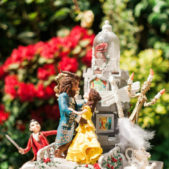 Beauty and the Beast Cake Top