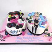 Bespoke birthday cake image