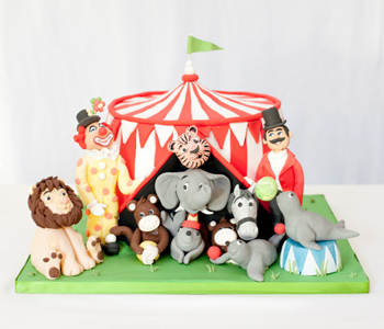 Miraculous Circus Birthday Cakes Cakes By Robin Personalised Birthday Cards Veneteletsinfo