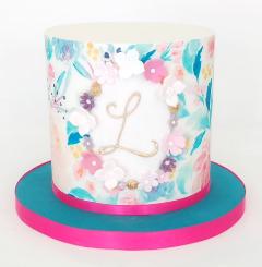 Birthday Cake - Floral Design