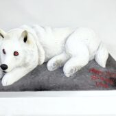 Birthday cake – 3D wolf