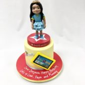 Birthday cake for Sanjana