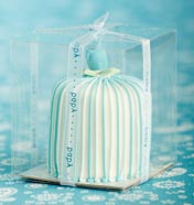 Baby boy miniature cakes