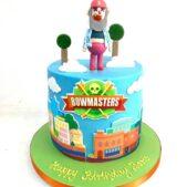Bowmasters birthday cake