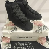 Boy Balenciaga shoes