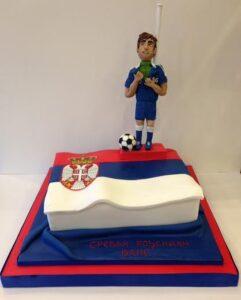Branislav Ivanovic birthday cake Chelsea
