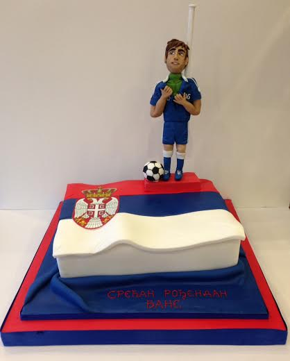 Swell Chelsea Football Player Birthday Cakes Cakes By Robin Personalised Birthday Cards Paralily Jamesorg