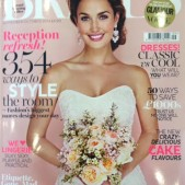 Cakes by Robin in Brides magazine Sept Oct 2014