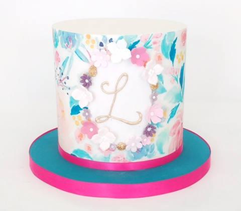 Budget Birthday Cakes - Initials