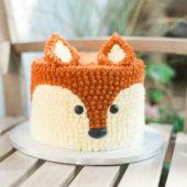 Cake Smash Fox Cake