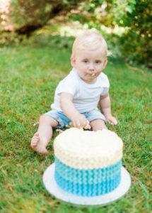 Cake Smash Boys Photo shoot