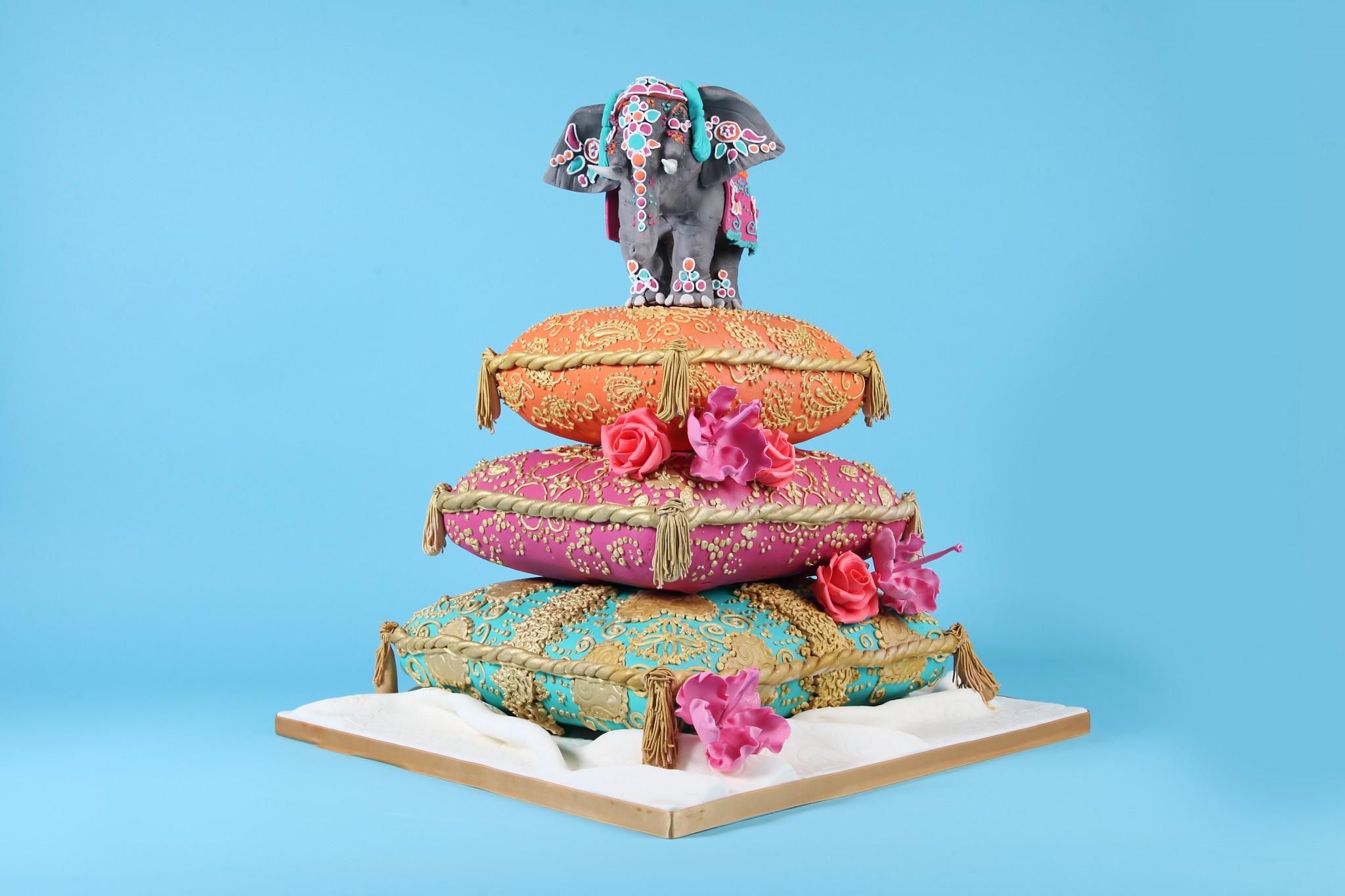 Elephant Birthday Cake Designs
