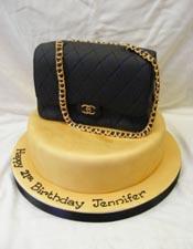 Chanel handbag 3D cake